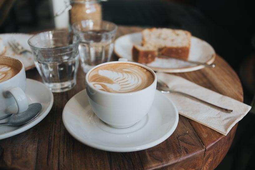 breakfast-on-coffee-table